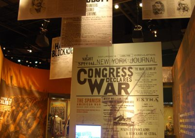 The International Stage: Congress Declares War