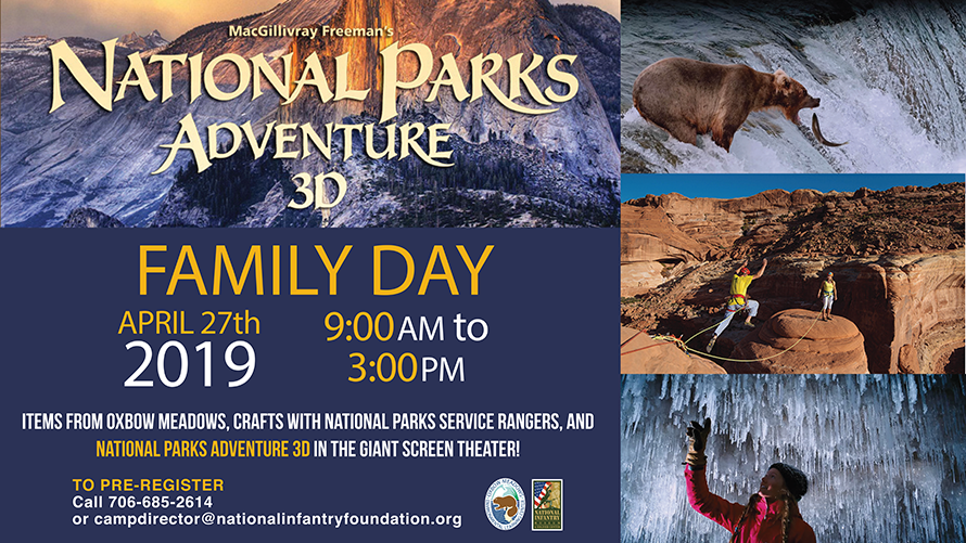 National Parks Adventure Family Day