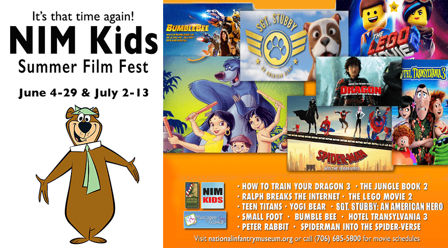 NIM Kids Free Summer Film Fest